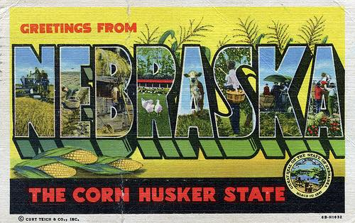 nebraska post card